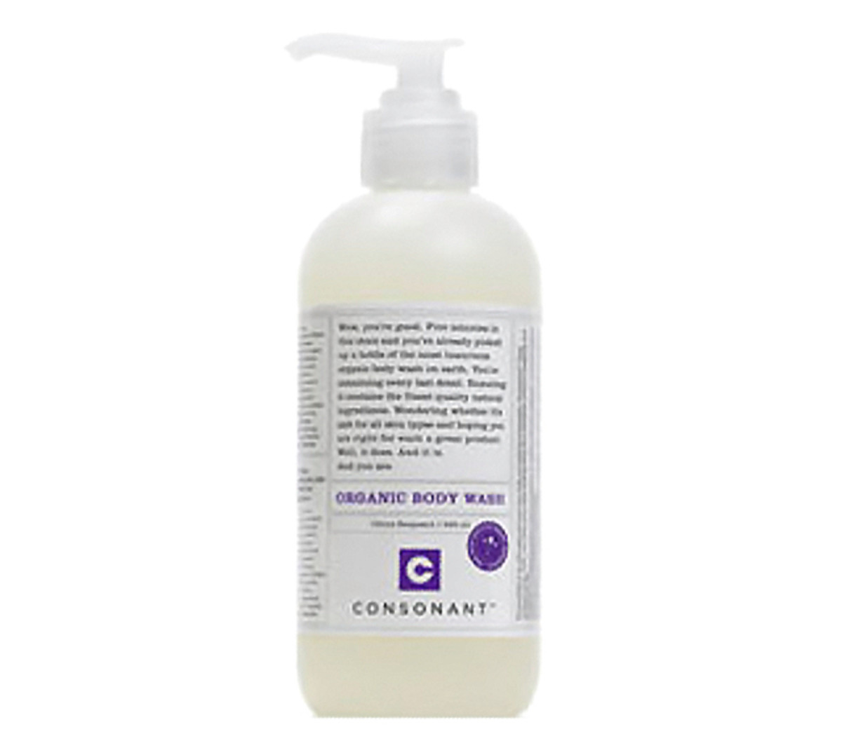 Consonant Body Citrus Bergamot wash