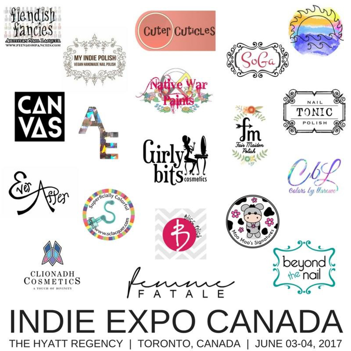 Indie Expo Toronto Canada 2017 Vendors