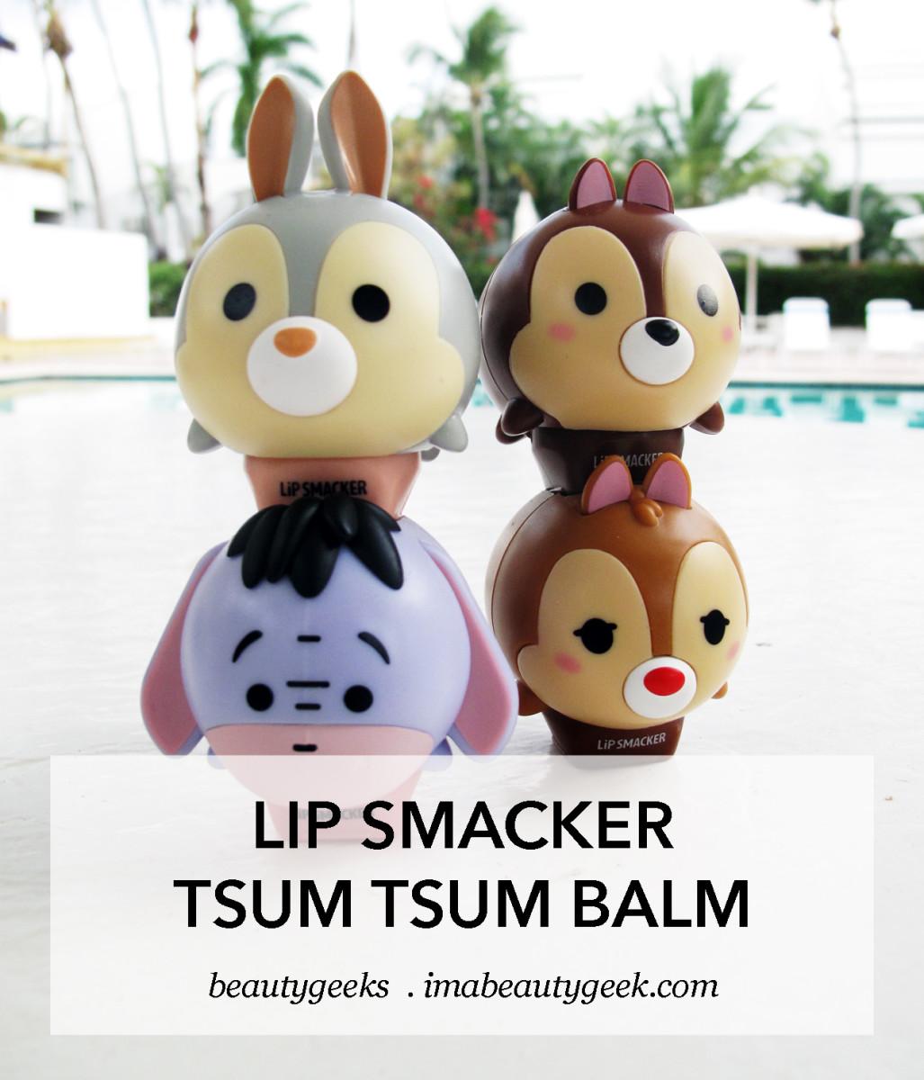Disney Tsum Tsum Lip Smacker lip balms_stacked_promo image