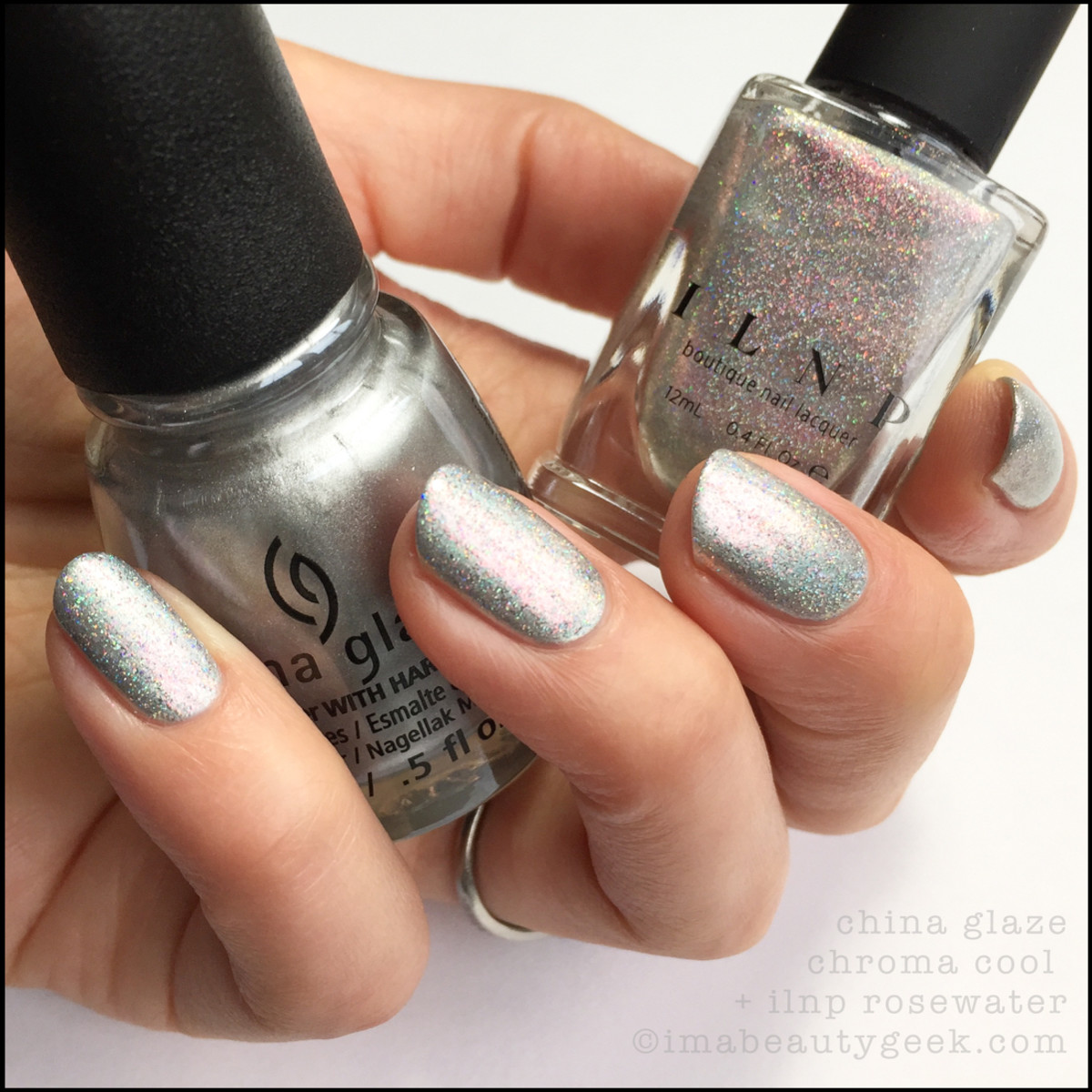 China Glaze Chroma Cool w Rosewater_Summer Reign Collection