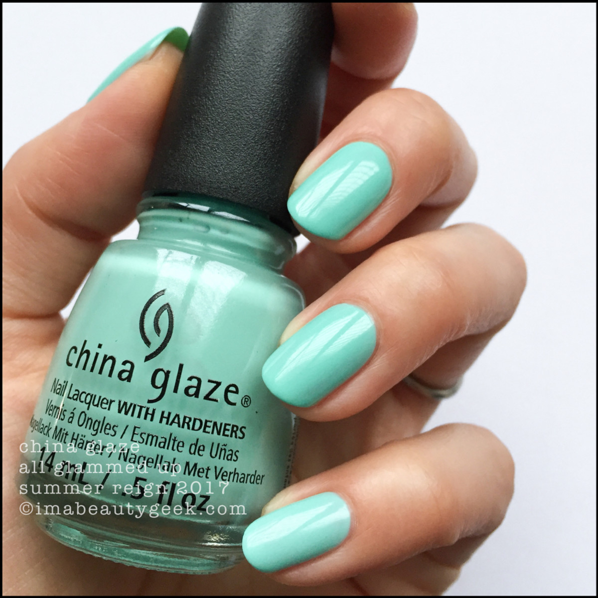 China Glaze All Glammed Up_Summer Reign Collection Swatches