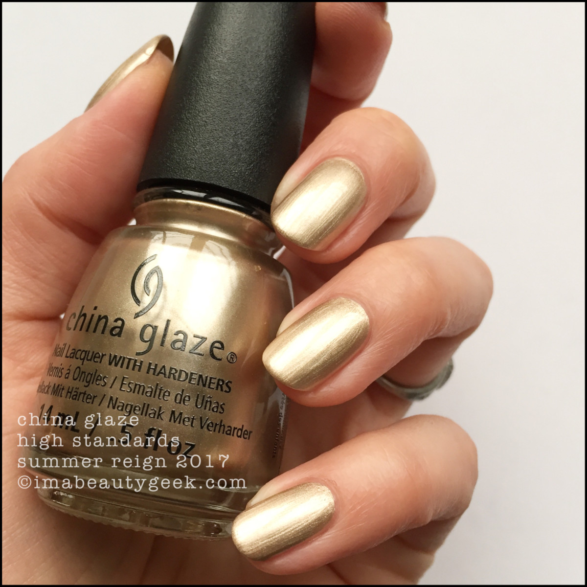 China Glaze High Standards_Summer Reign Collection