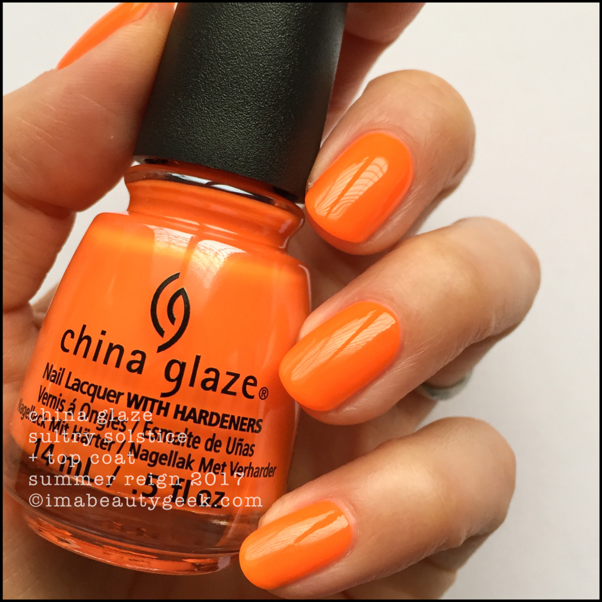 CHINA GLAZE SUMMER REIGN COLLECTION SWATCHES & REVIEW 2017 - Beautygeeks