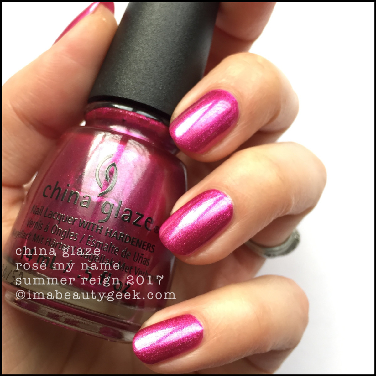 China Glaze Rose My Name_Summer Reign 2017 Collection