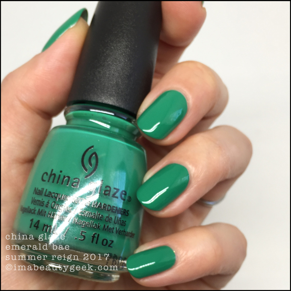 China Glaze Emerald Bae_Summer Reign Collection 2017