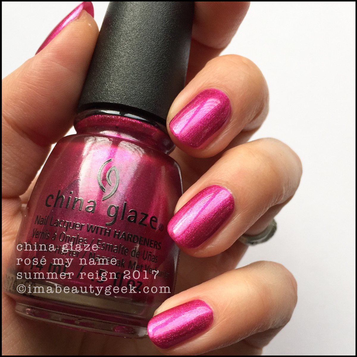 China Glaze Rosé My Name_Summer Reign Collection