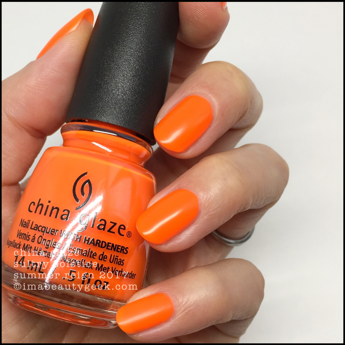 China Glaze Sultry Solstice no top coat_Summer Reign