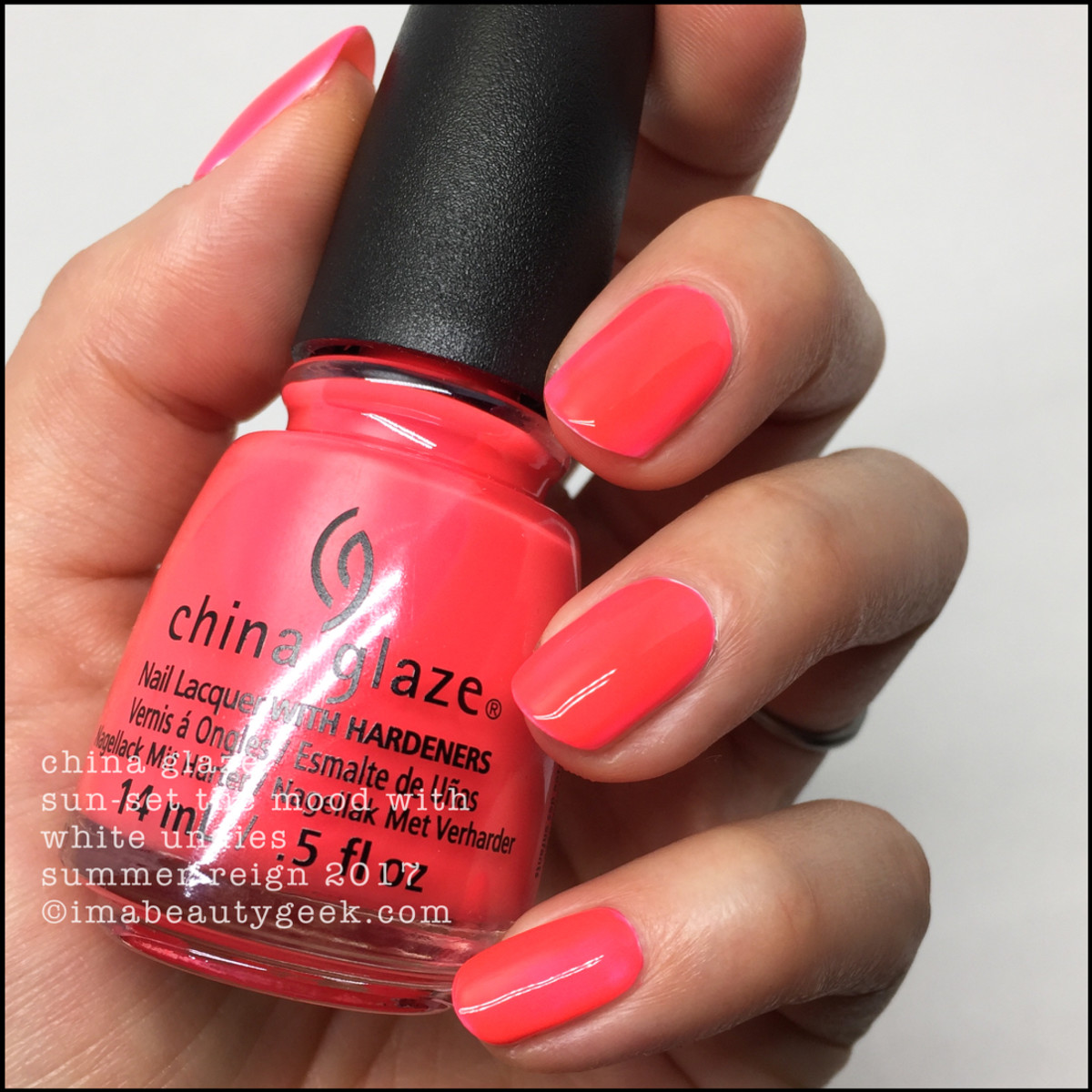 China Glaze Sunset The Mood Neon_Summer Reign Collection