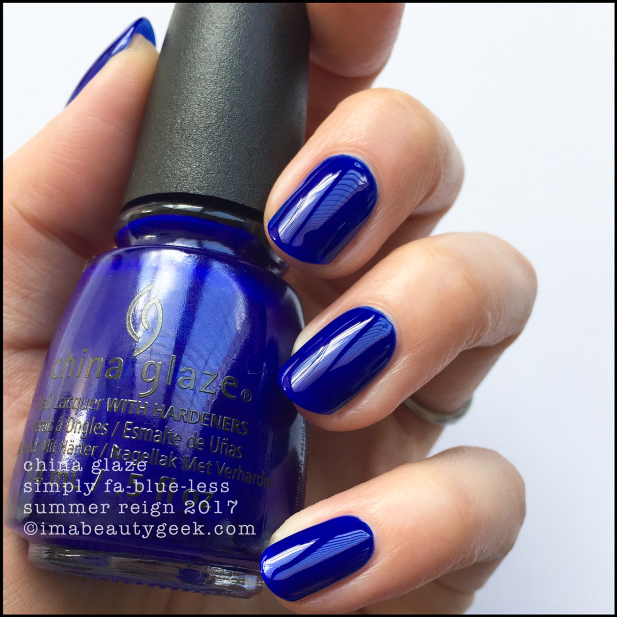 China Glaze Simply Fablueless _ Summer Reign Collection
