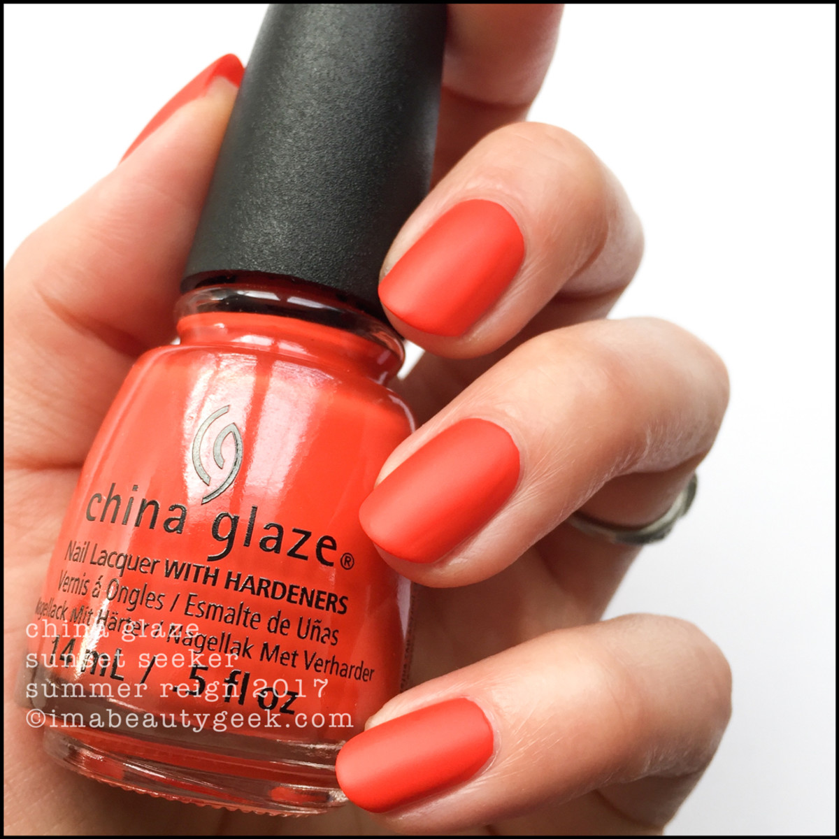 China Glaze Sunset Seeker no top_Summer Reign Collection