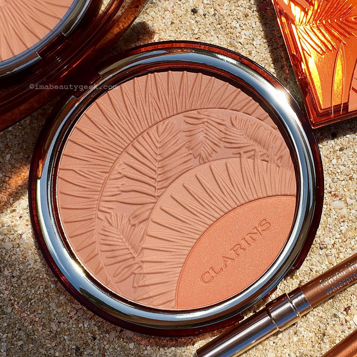 Clarins Summer 2017 Bronzer & Blush compact