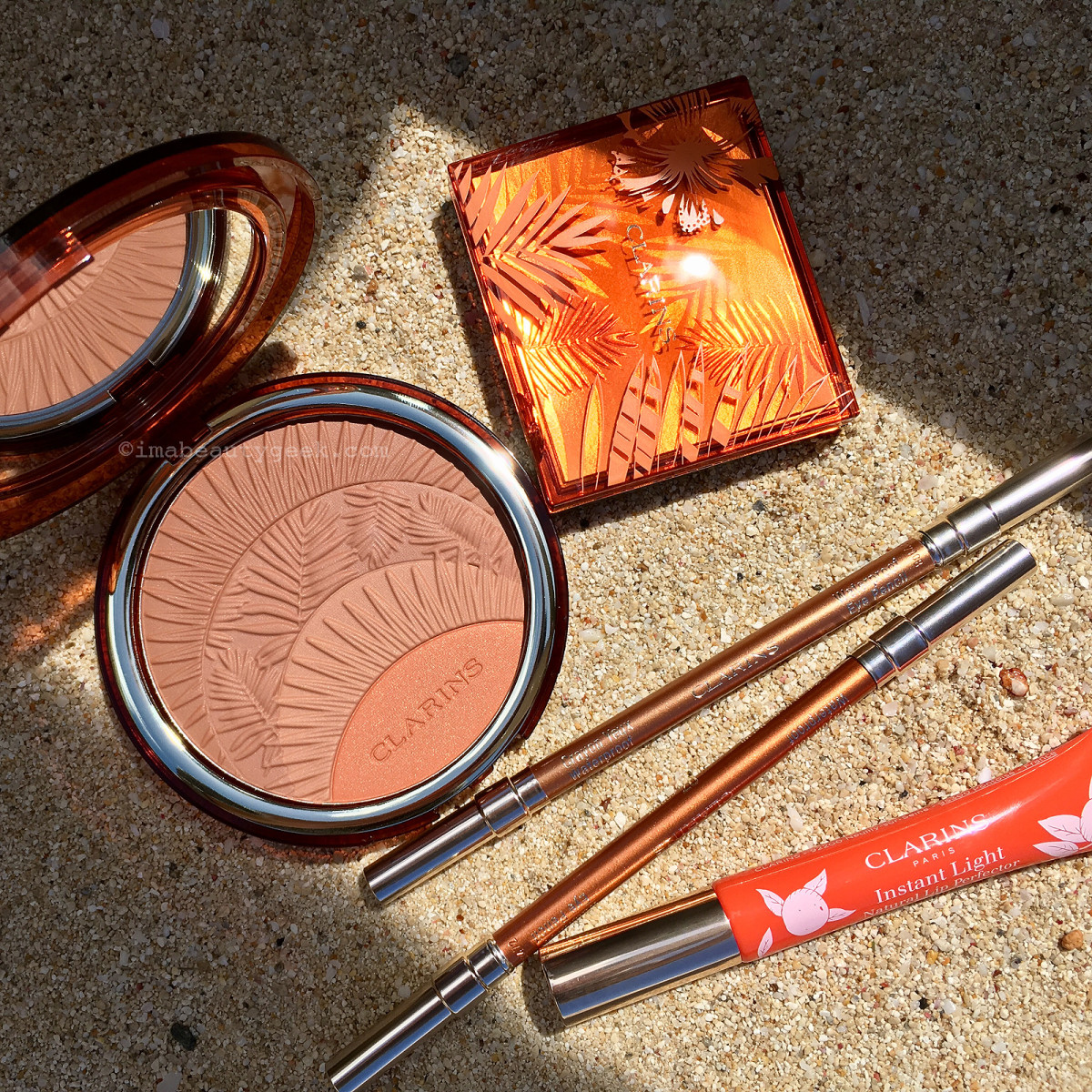 Clarins Summer 2017 makeup + new Instant Light Natural Perfector in Juicy Mandarin