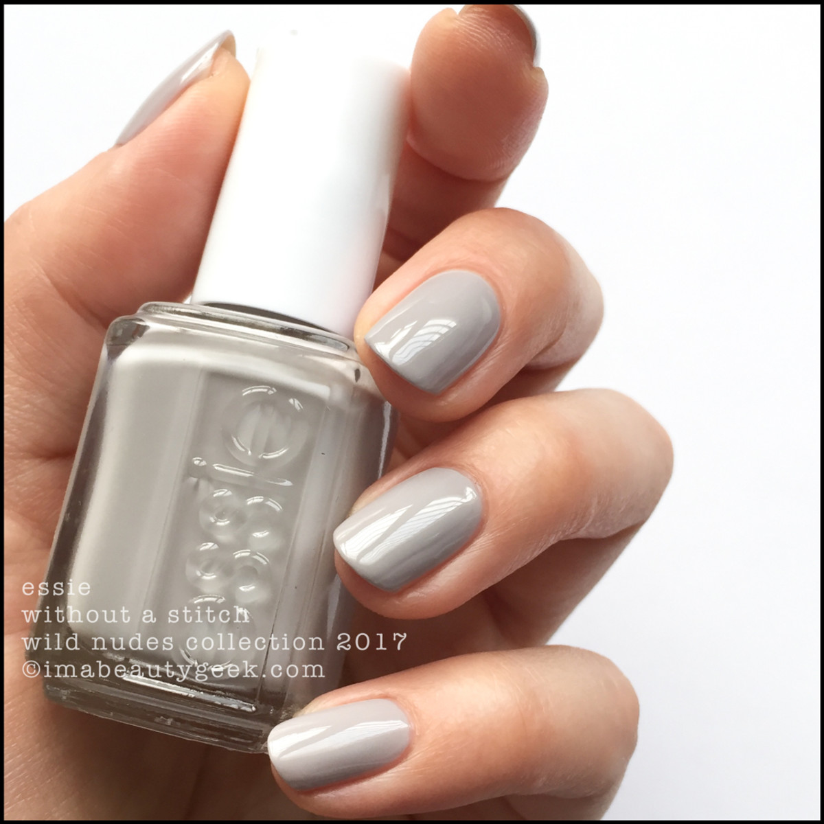 Essie Without a Stitch _ Essie Wild Nudes Collection 2017 Swatches Review
