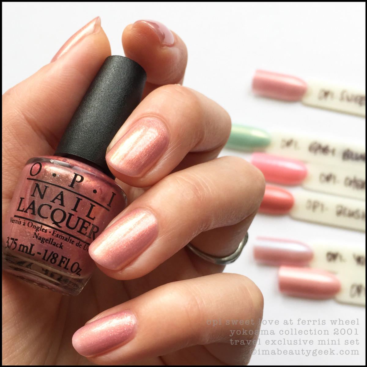 OPI Sweet Love at Ferris Wheel_OPI Yokohama Collection 2001 Swatches
