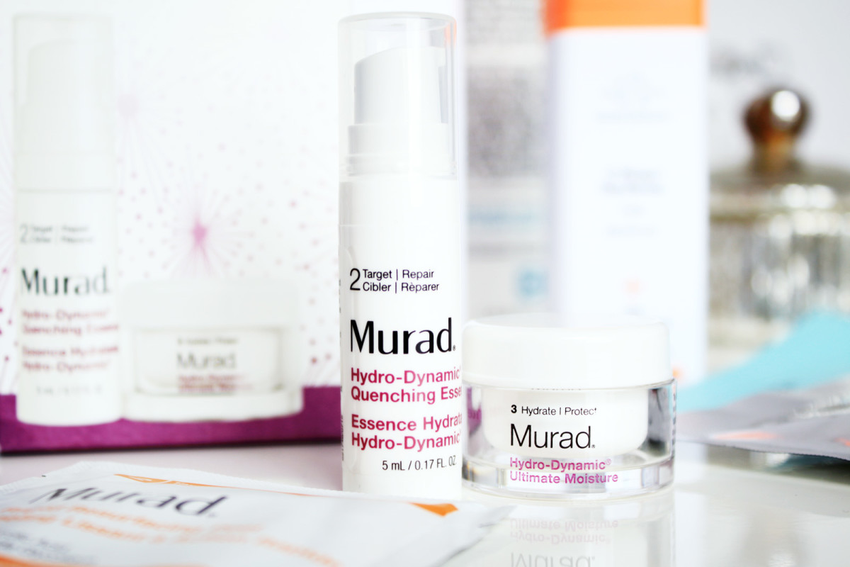 Teeny, weeny Murad Hydro-Dynamic Quenching Essence and Hydro-Dynamic Ultimate Moisture