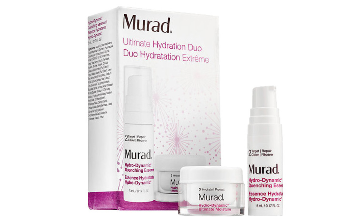 Murad Ultimate Hydrating Duo: this 2-piece little kit is $15 CAD – it's worth $27 CAD