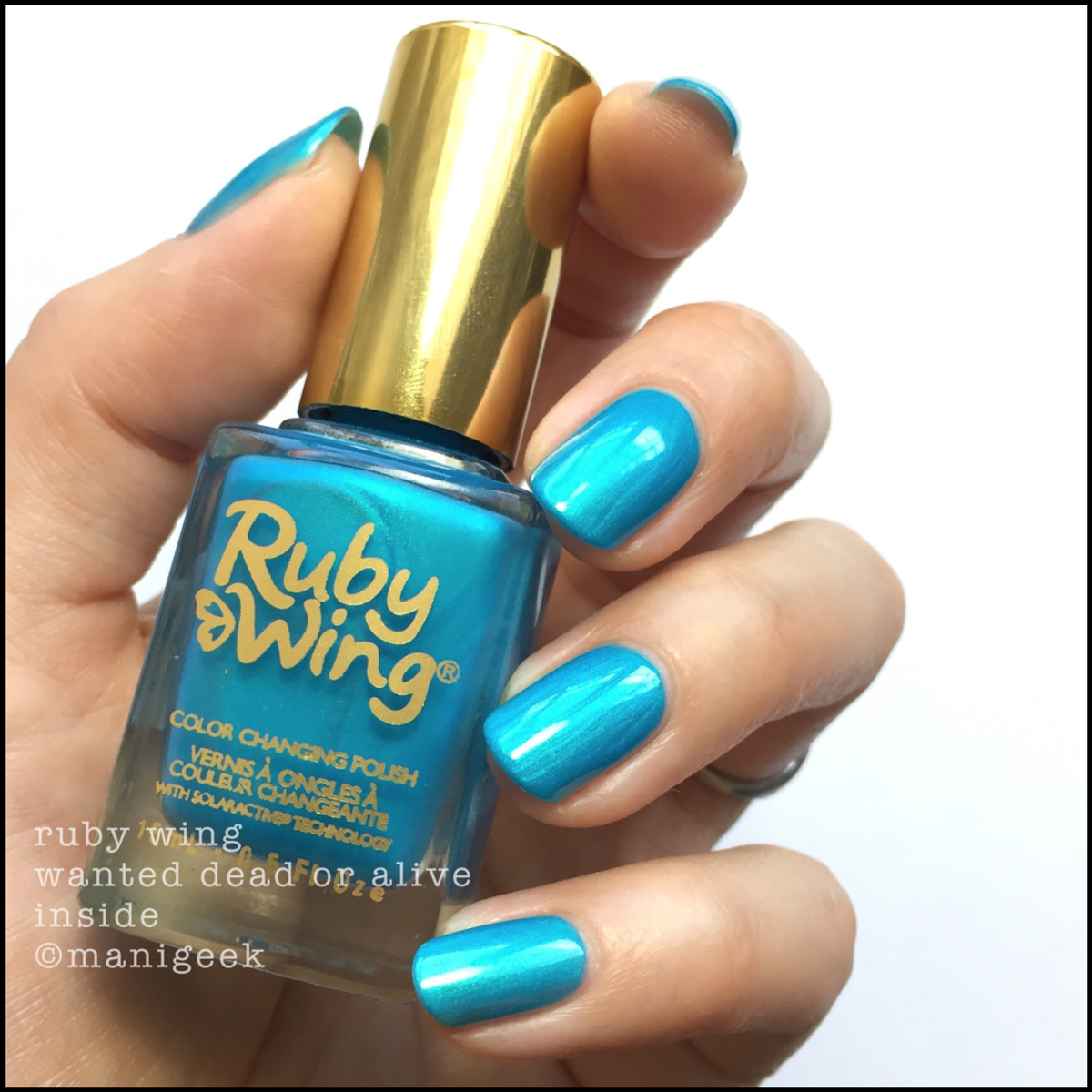 Ruby Wing Wanted Dead or Alive Inside Nail Polish