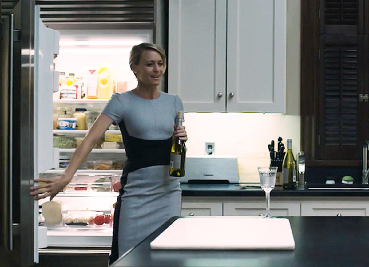 Robin Wright asClaire Underwood in House of Cards