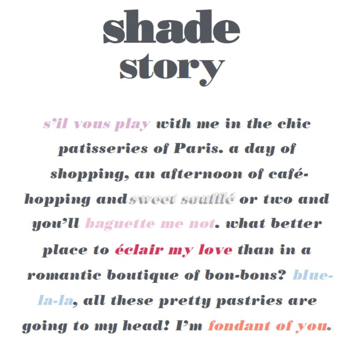 Essie Summer 2017 Shade Story