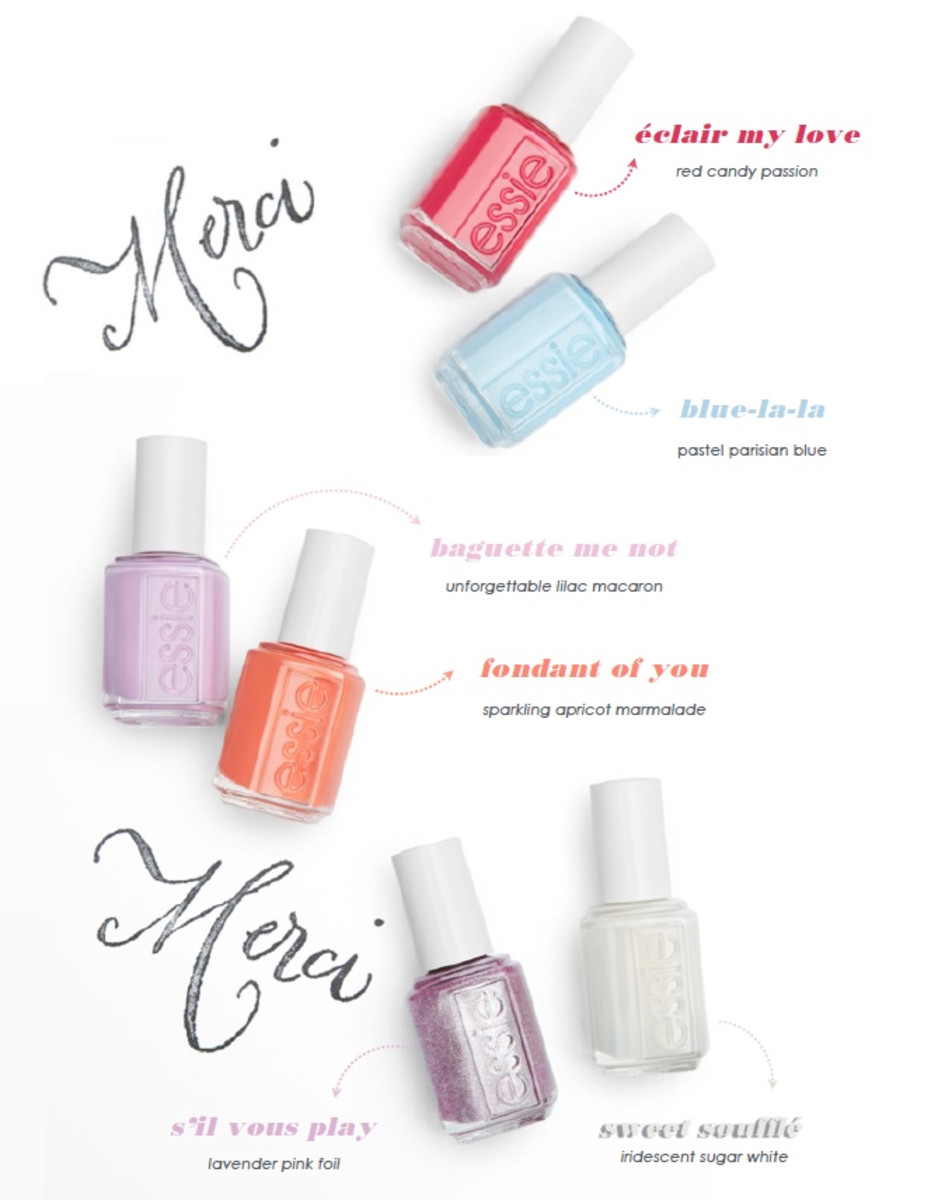 What Are Summer Colors essie summer 2017 collection swatches review sil vous play