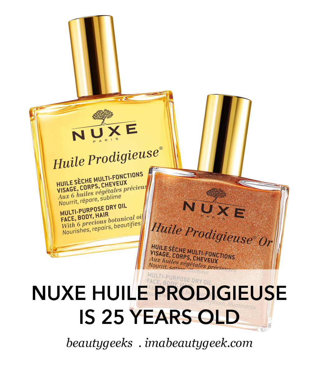 Nuxe Huile Prodigeuse celebrates 25 years