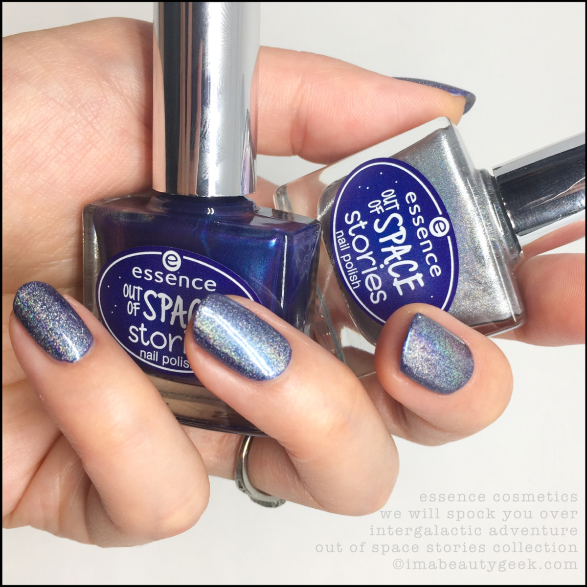 Essence We Will Spock You over Intergalactic Adventure Swatches