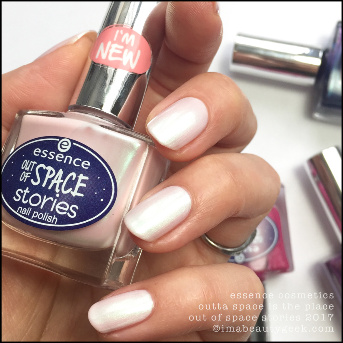 Essence Outta Space Is The Place Nail Swatches