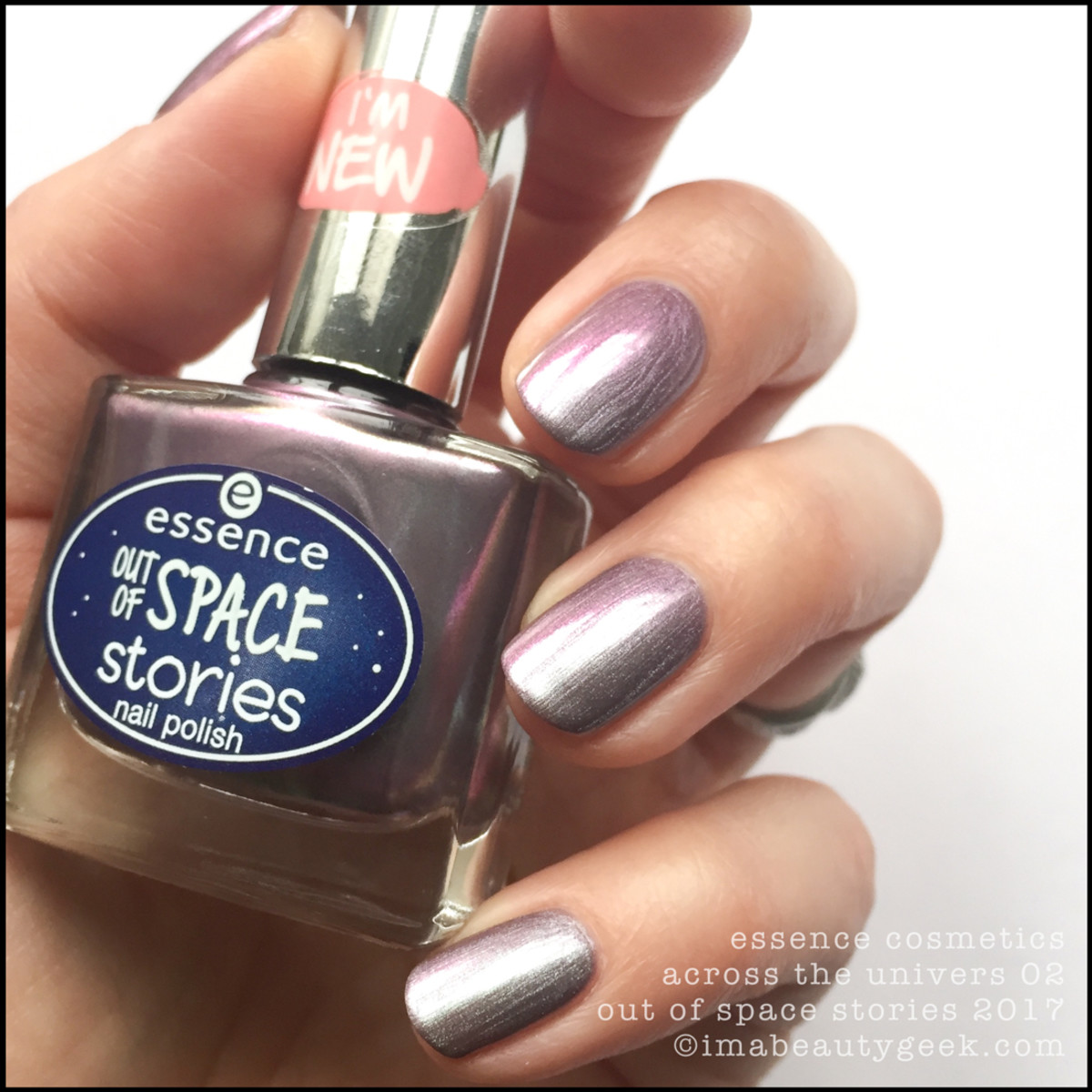 Essence Across The Universe Nail Swatches