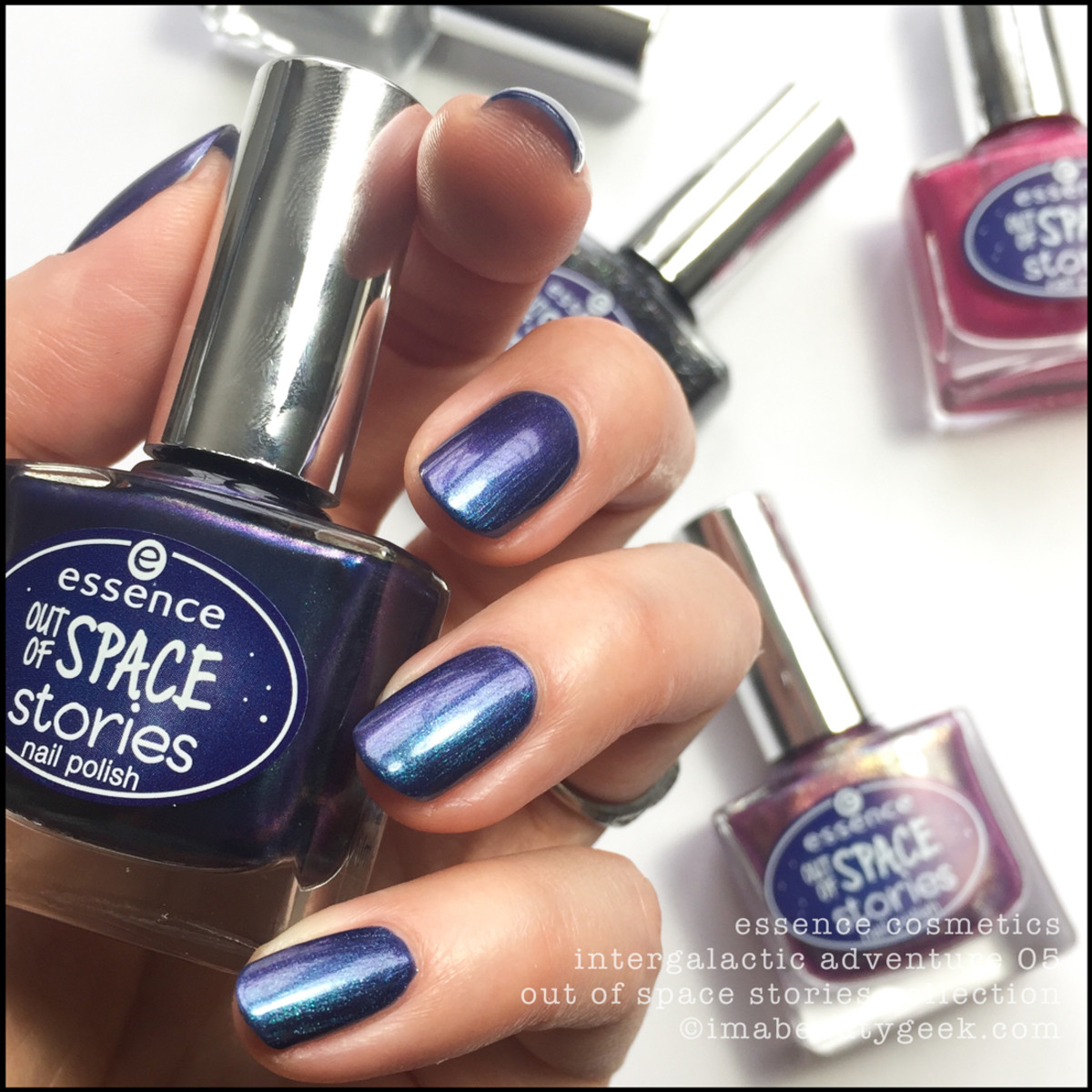 Essence Intergalactic Adventure Nail Polish Swatches 1
