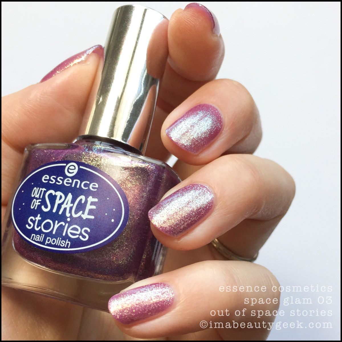 Essence Space Glam Nail Polish Swatches