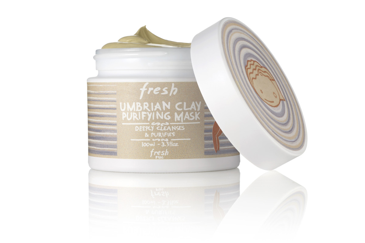 Fresh Umbrian Clay Purifying Mask in limited-edition packaging