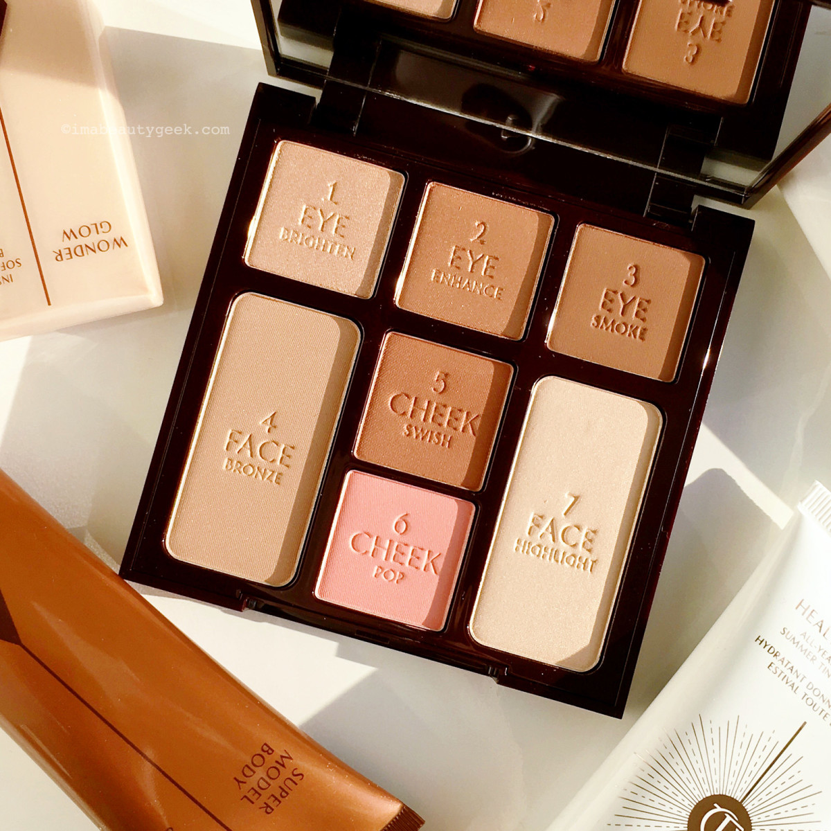 Charlotte Tilbury The Beauty Glow face palette #glowmo