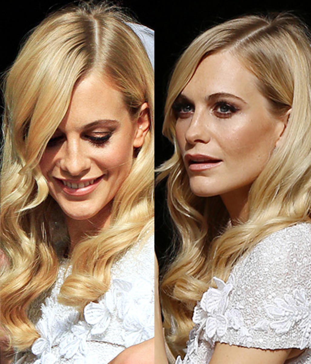 Poppy Delevingne wedding makeup by Charlotte Tilbury, inspiration for the CT Beauty Glow Palette.