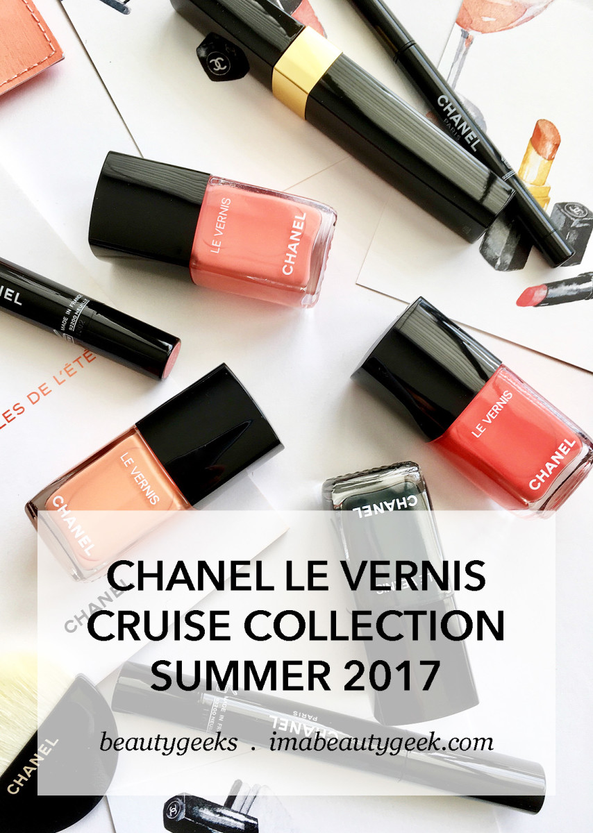 Chanel Le Vernis Cruise Collection Summer 2017 Nail Polish