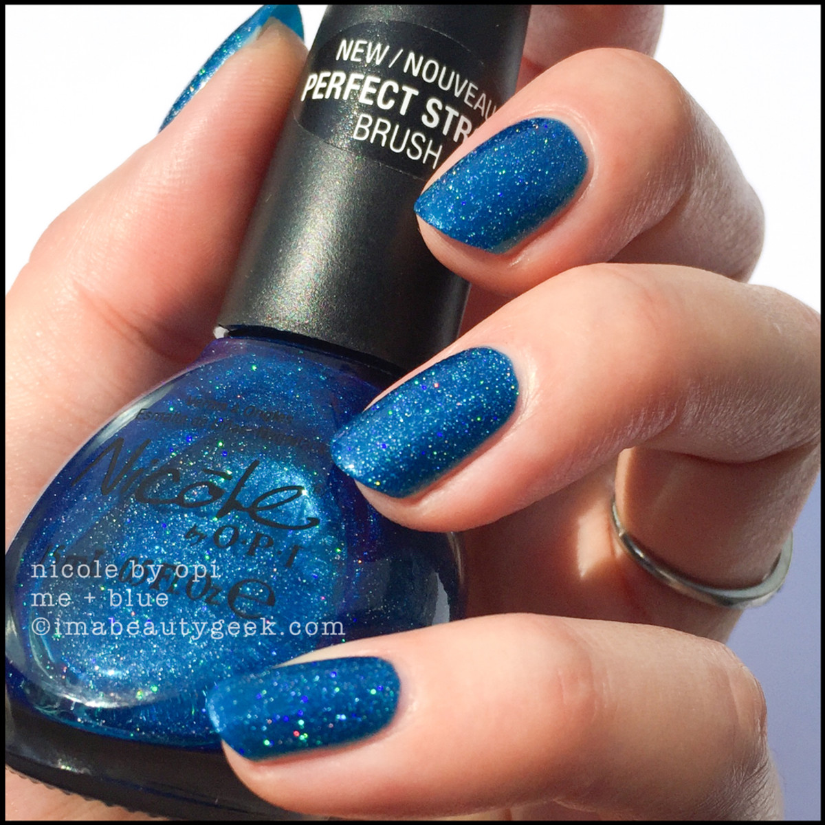 Nicole by OPI Me + Blue direct sun_Nicole by OPI Swatches