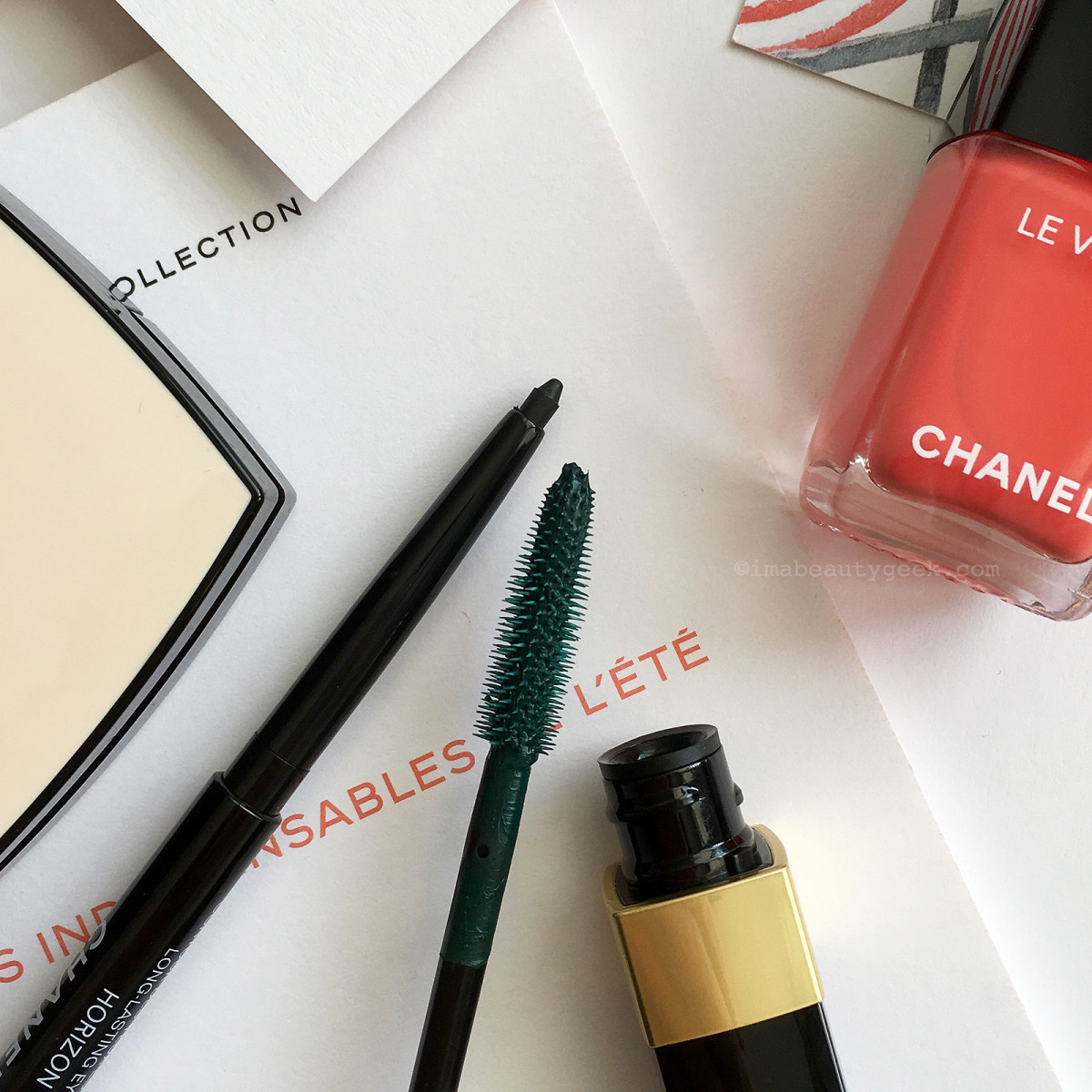 Chanel Cruise Collection summer 2017 limited-edition waterproof liner and waterproof mascara