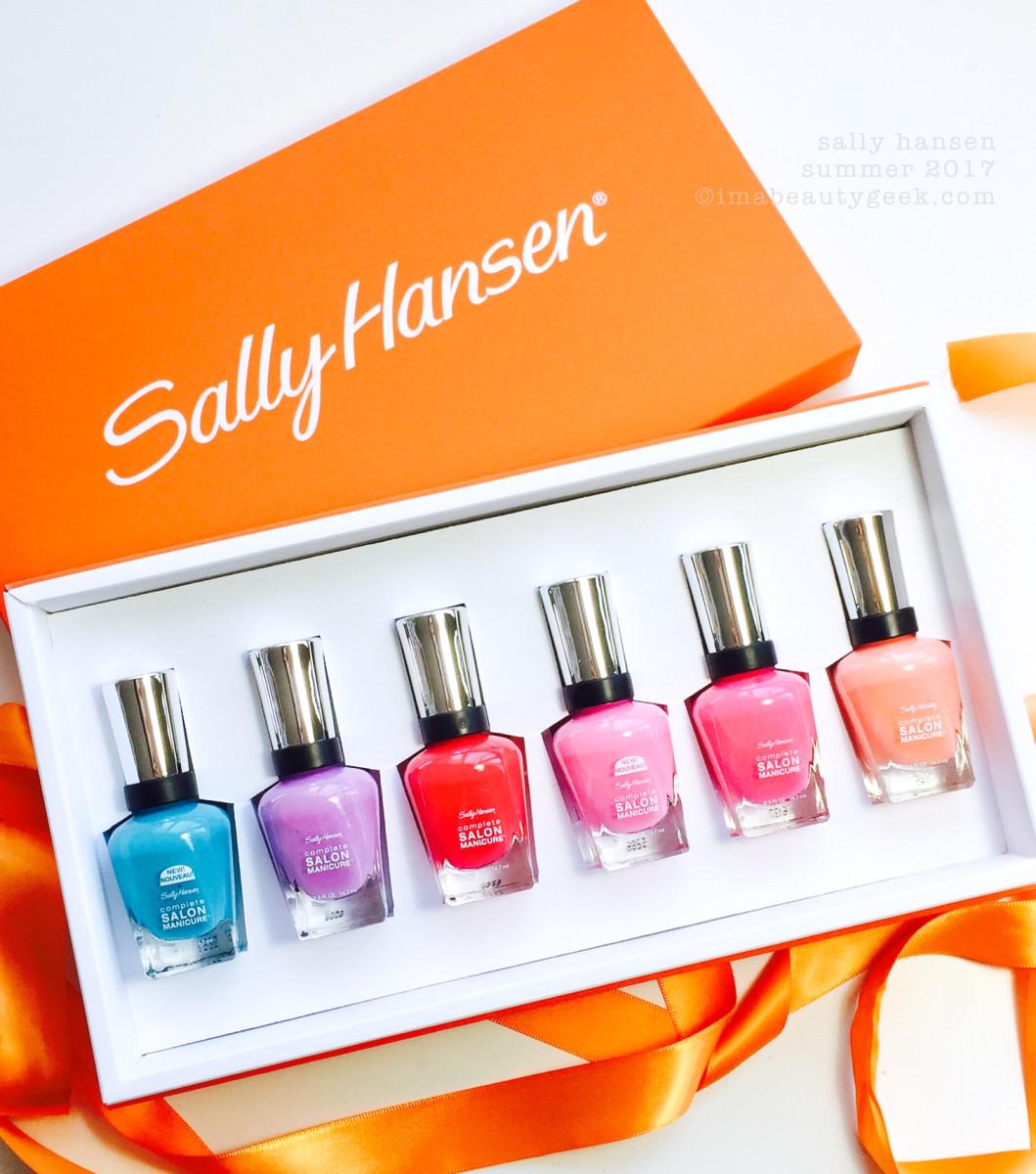 Sally Hansen Summer 2017 Complete Salon Manicure Swatches