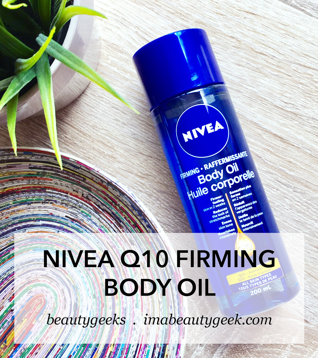 Nivea Q10 Firming Body Oil 2016