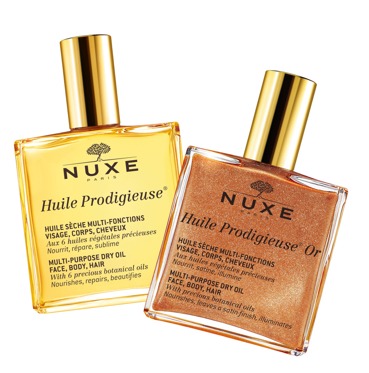 Nuxe Huile Prodigieuse and Huile Prodigieuse Or – you could win both!