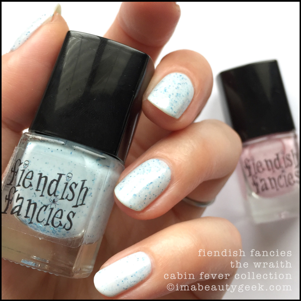 Fiendish Fancies The Wraith_Fiendish Fancies Cabin Fever Collection Swatches