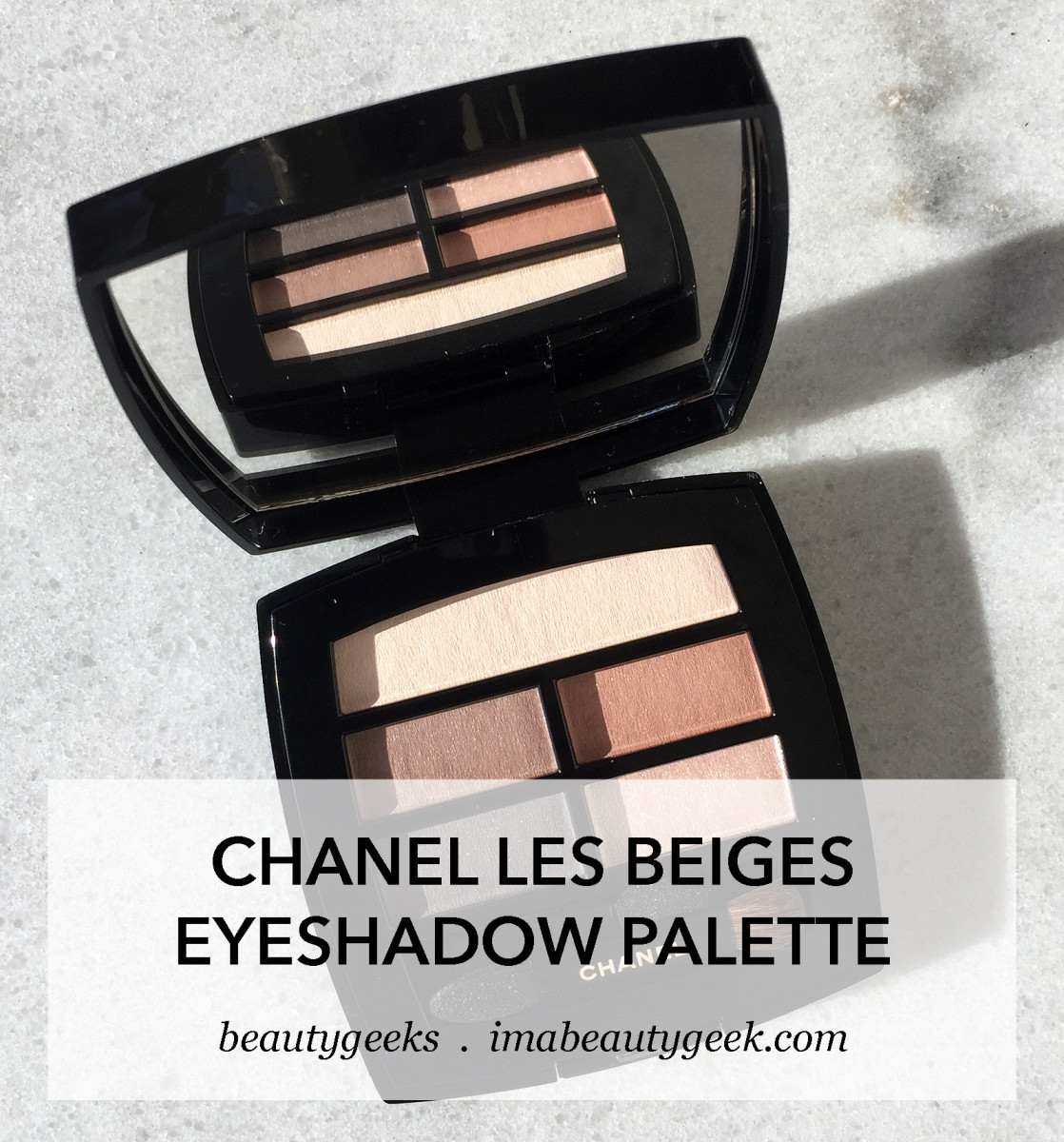 Chanel Les Beiges Eyeshadow Palette – we don't have to wait until October 2017 anymore; it'll be available in North America in July instead. (photo: Liza Herz)