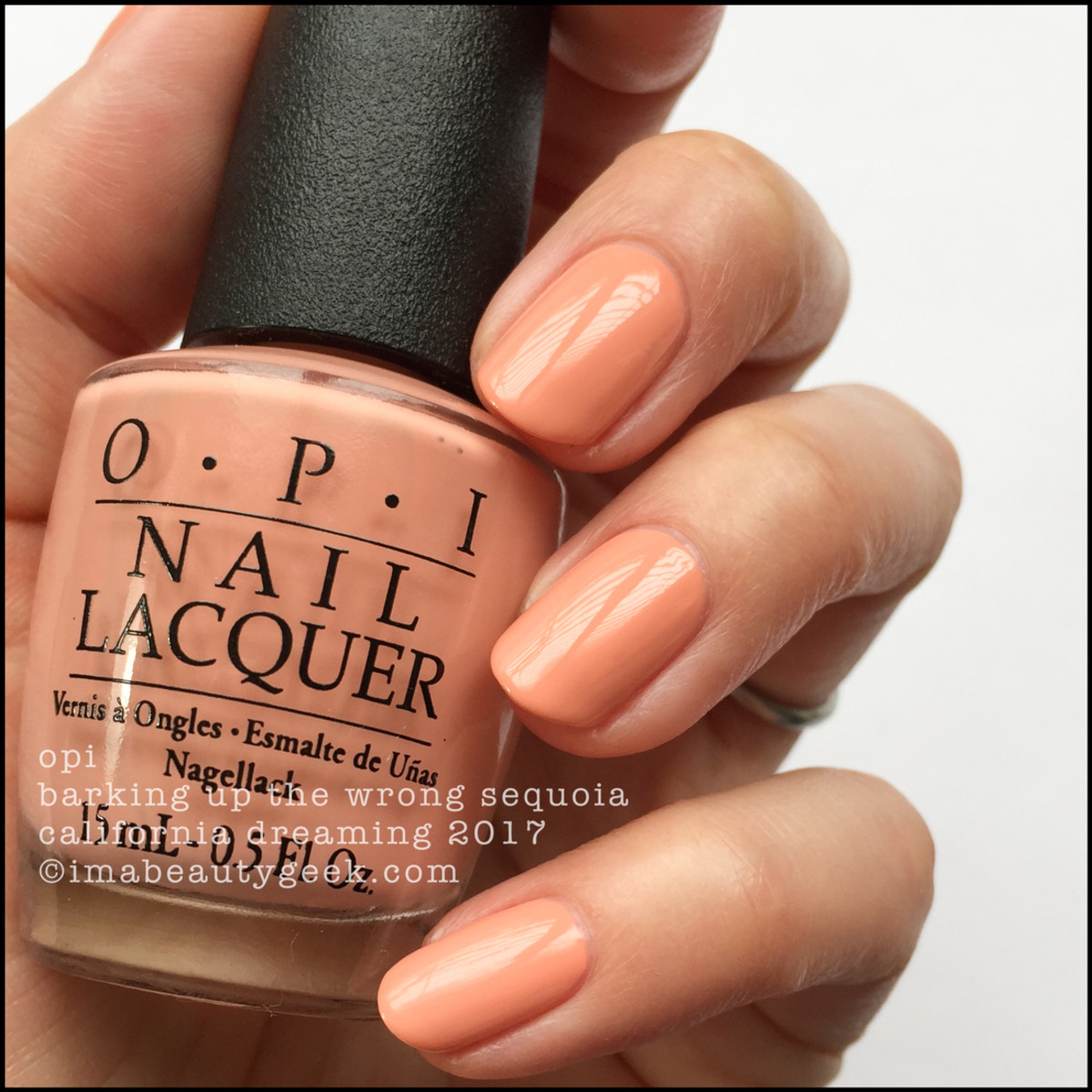 OPI Barking Up The Wrong Sequoia – OPI California Dreaming 2017