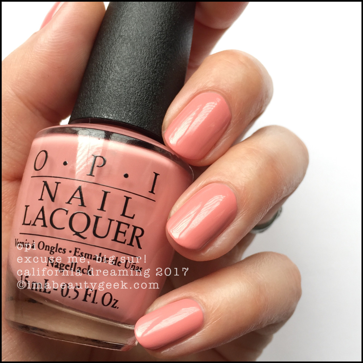 OPI Excuse Me, Big Sur _ OPI California Dreaming Collection Swatches 2017