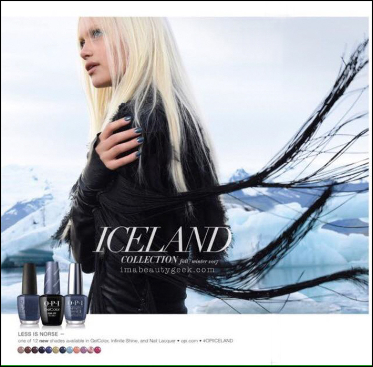 OPI Iceland Collection 2017 Fall Winter