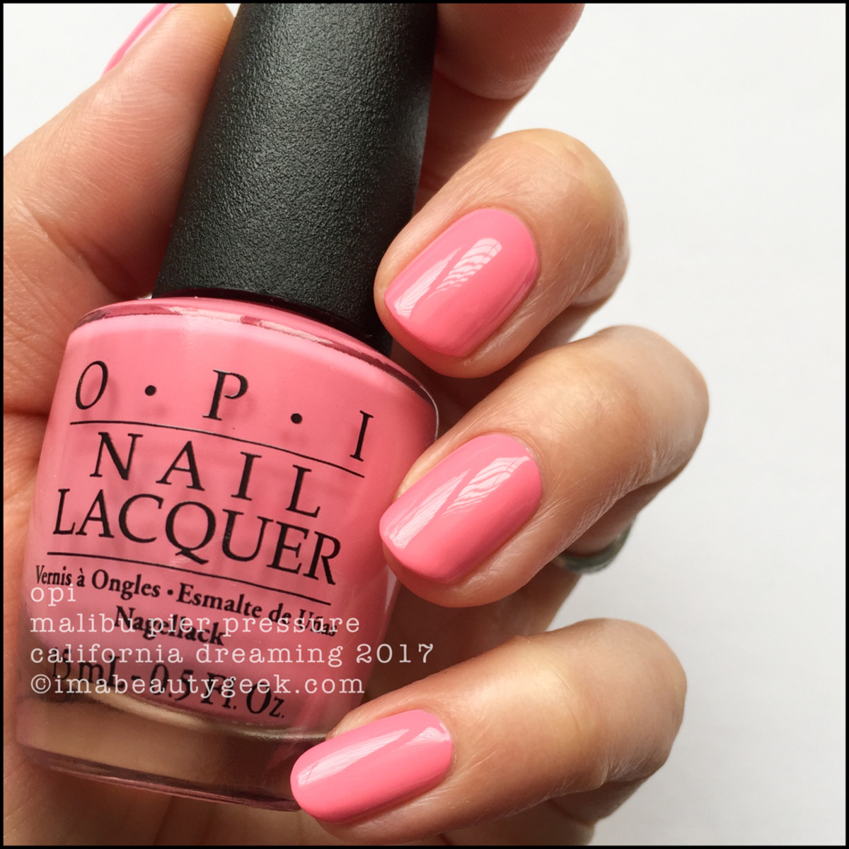 OPI Malibu Pier Pressure _ OPI California Dreaming Collection Swatches 2017