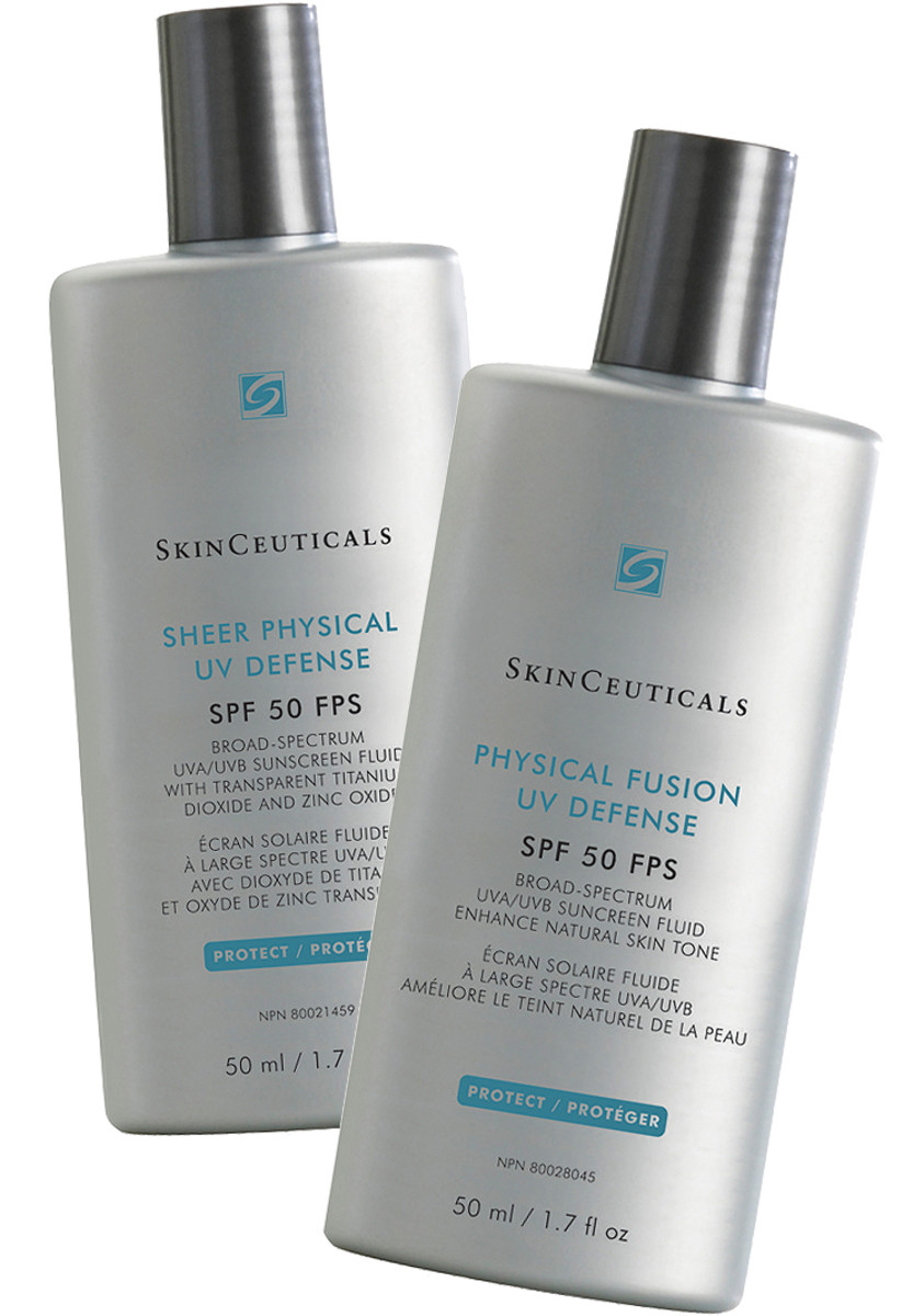 If the Skinceuticals Physical Fusion UV Defense tinted SPF 50 is too dark for your pale skin, can we dilute it with a couple of drops of untinted Sheer Physical UV Defense SPF 50 without disrupting the film-forming ability of the sunscreen formulas? Skinceuticals has no clinical data on the subject.
