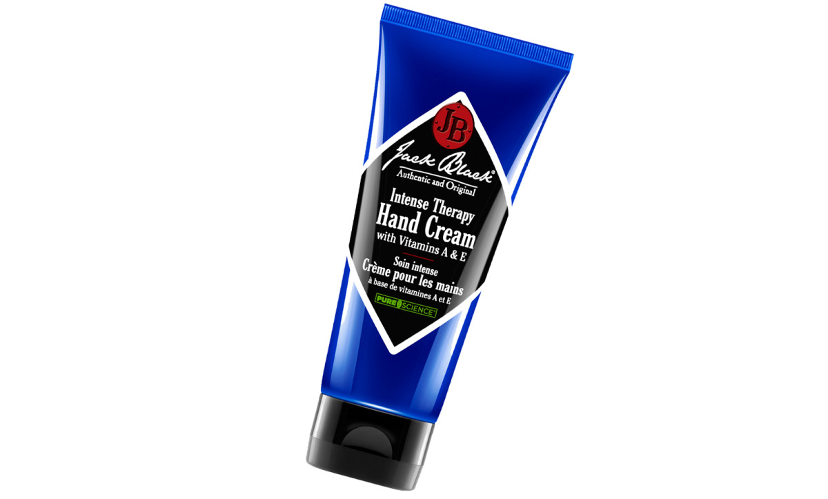 Jack Black Intense Therapy Hand Cream softens rough, chapped skin, smells clean and zippy, and doesn't leave a greasy finish.
