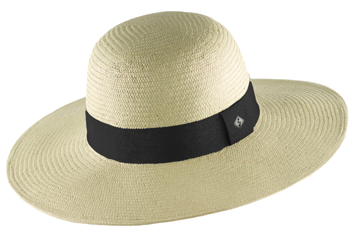 Stayback Hat with 4-inch brim for UV shelter, and secure-fit system