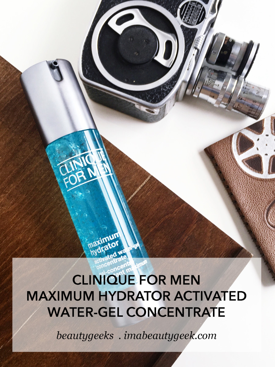 Clinique for Men Maximum Hydrator Activated Water-Gel Concentrate review