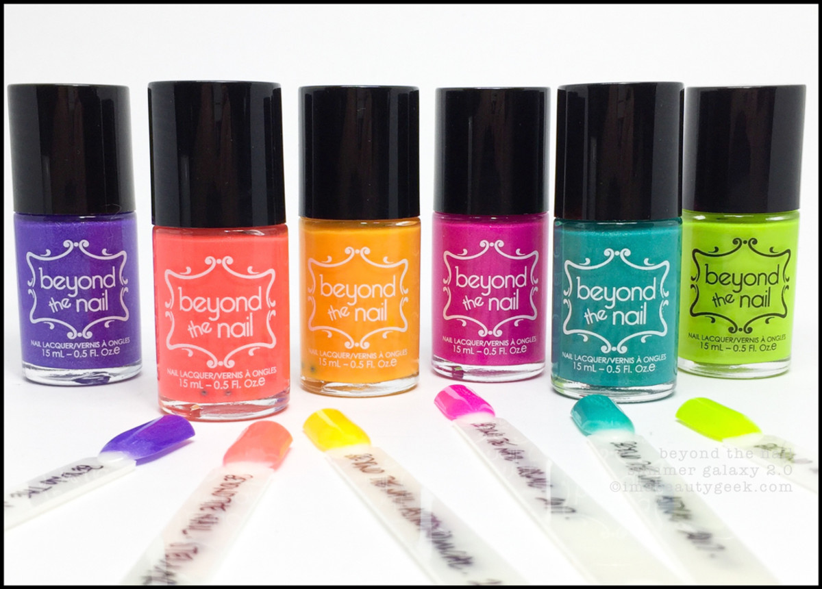 Beyond the Nail Summer Galaxy 2.0 Collection Swatches Review